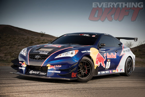 Rhys millens hyundai genesis drift car to debut at chicago auto posted sciox Choice Image