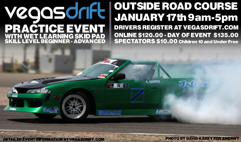 VegasDrift's First Practice Event of the Year!!