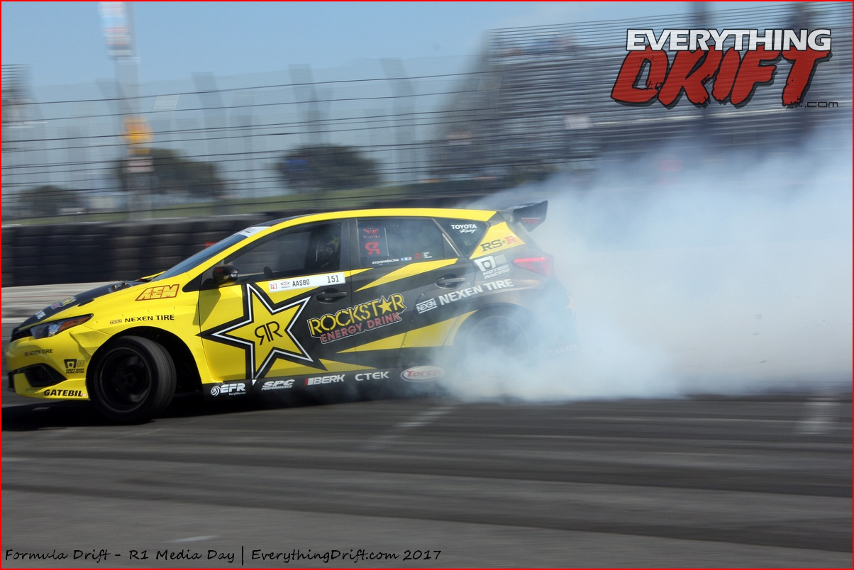 With a score of 94 in today s qualifying session the machine secures not only a bye run for tomorrow s main event the 2017 formula drift championship