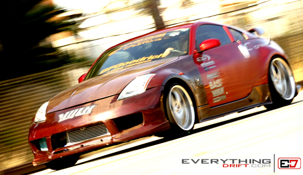Extreme Deminsions 350z